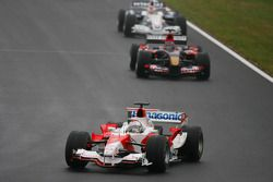 Jarno Trulli, Scott Speed and Robert Kubica