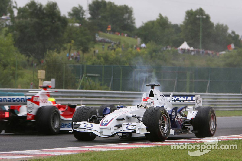 Robert Kubica, GP Węgier 2006