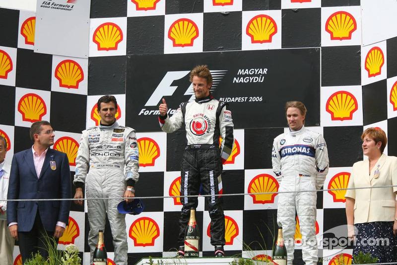35- Pedro de la Rosa, 2º en el GP de Hungría 2006 con McLaren