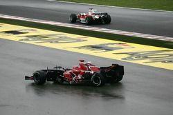 Vitantonio Liuzzi runs off the circuit
