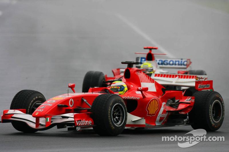 Felipe Massa y Ralf Schumacher