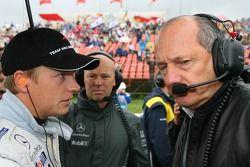 Kimi Raikkonen y Ron Dennis