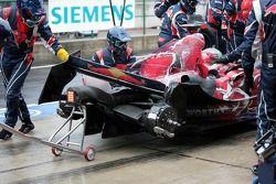 Vitantonio Liuzzi after his crash