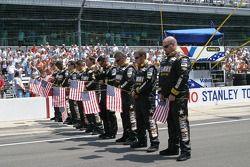 Les membres de l'équipe U.S. Army Chevy