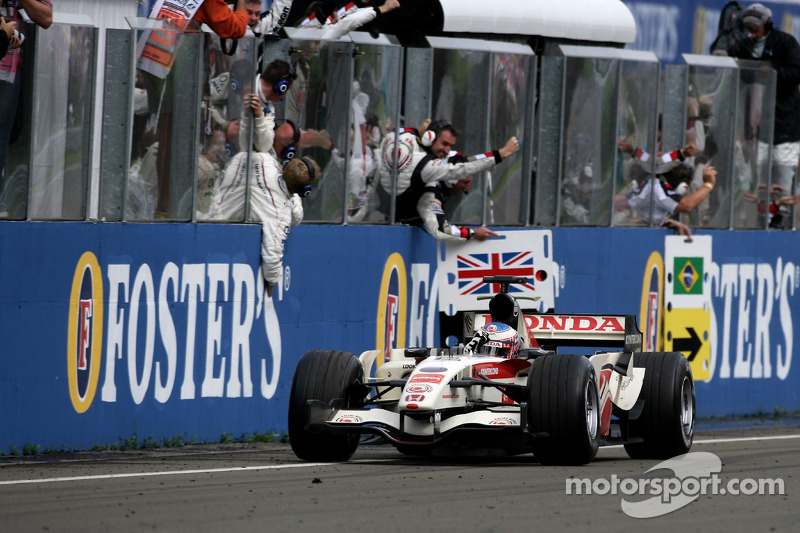 Hongrie 2006 - Jenson Button (BAR)