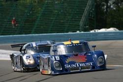 #10 SunTrust Racing Pontiac Riley: Wayne Taylor, Max Angelelli, Ryan Briscoe, #5 Essex/ Finlay Motorsports Ford Crawford: Rob Finlay, Michael Valiante