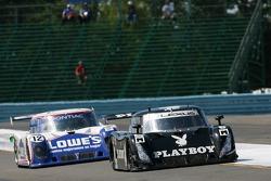 #6 Playboy Racing/ Mears-Lexus/Riley Lexus Riley: Burt Frisselle, Mike Borkowski, #12 Lowe's Fernete