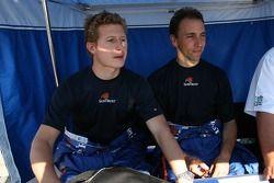 Ryan Briscoe and Max Angelelli