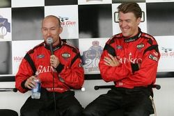 Press conference: pole winners Jon Fogarty and Alex Gurney