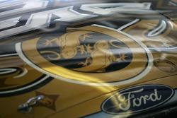 Artwork on the Ford of Boris Said