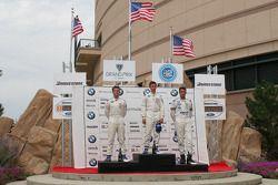 Reed Stevens, Matt Lee et John Zartarian sur le podium