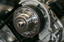 Toyota Racing display: the 2007 Lexus Daytona Prototype engine