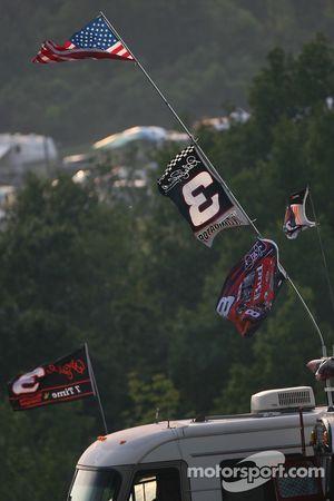 Flags at Watkins Glen