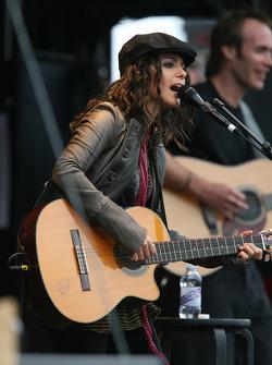 Katie Melua performs on stage