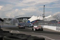 Atlantic cars head to turn 3