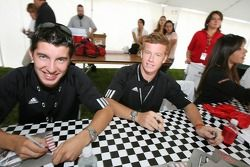 Mike Rockenfeller and Patrick Long