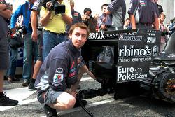 Midland F1 team member