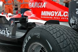 Detail of the Midland Toyota M16