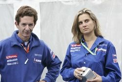 Marc Van Dalen et Marie-Pierre Rossi