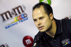 David Gilliland was announced as the new M&M's Roberts Yates Racing driver of the number 38 Ford Fusion