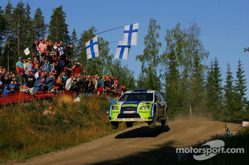 10. Rally de Finlandia 2006: 122,06 km/h