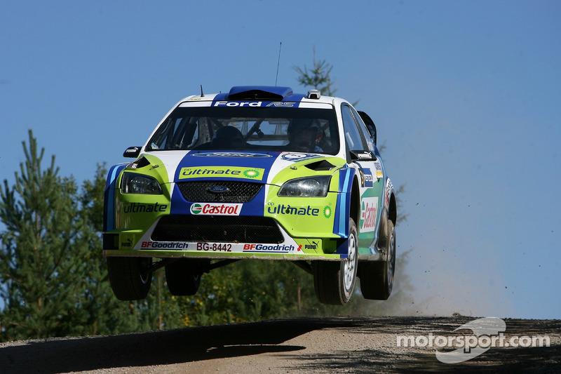 #11 Rallye de Finlande 2006 : 122,06 km/h