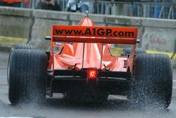 Very wet conditions, Bavaria City Racing
