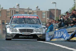 Christijan Albers in the DTM-taxi through Rotterdam