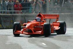 Jos Verstappen in his A1GP car