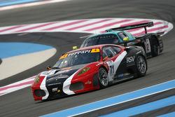 #71 RSV Motorsport Ferrari 430 GT2: Michel Ligonnet, Rolet Severin