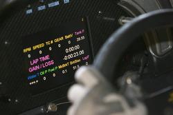 Cockpit de la GLPK-Carsport Corvette C6R