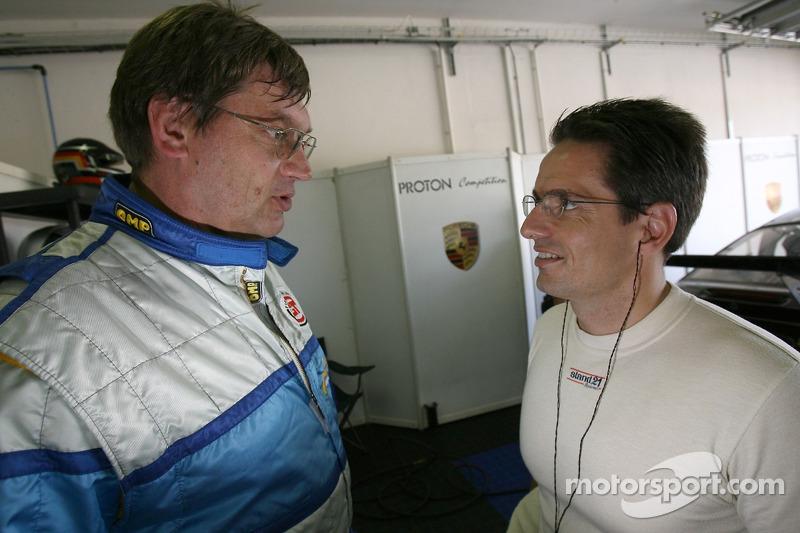 Gerold Ried et Horst Felbermayr Jr.