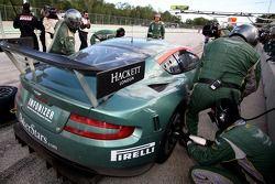 Aston Martin pitstop