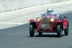 #111, 1931 Alfa Romeo 6C-1750, Rick Rawlins