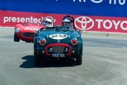 #29, 1955 Triumph TR2,David Nelson