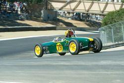 #19, 1960 Lotus 18 F-Jr., Marty Benck