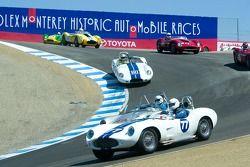 #62, 1958 Lister-Jaguar, Steven Hilton