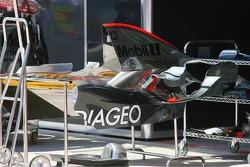 McLaren Mercedes engine cover