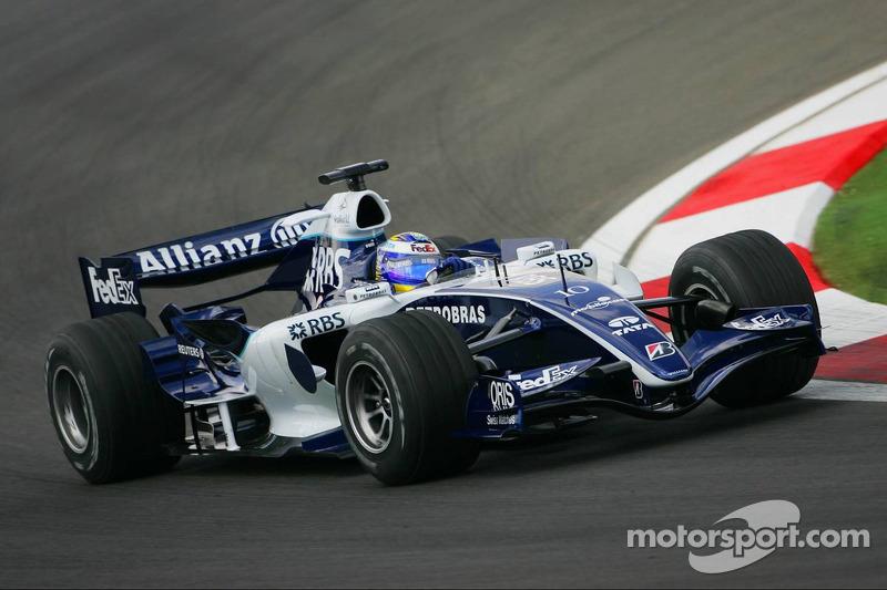 Williams, 2006: 4 pontos, 17º no campeonato