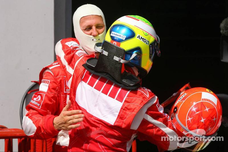 Ele conquistou 41 pódios na carreira. O primeiro foi no GP da Europa de 2006.