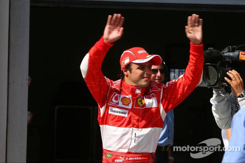 Felipe Massa (Ferrari): 25 años, 4 meses y 2 días