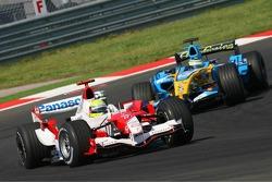 Ralf Schumacher and Giancarlo Fisichella