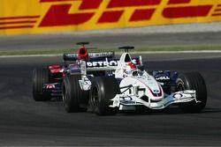 Robert Kubica and Scott Speed