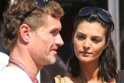 Karen Minier, fiancee of David Coulthard