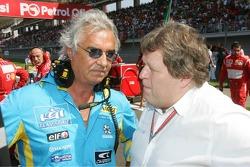 Flavio Briatore and Norbert Haug