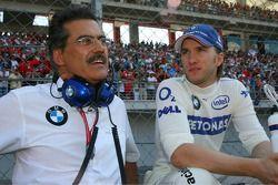 Dr. Mario Theissen and Nick Heidfeld