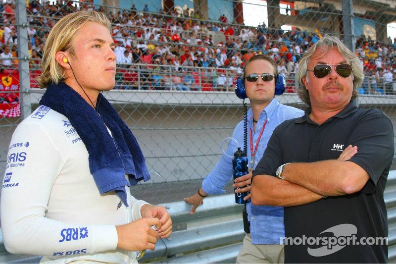 Keke Rosberg e Nico Rosberg