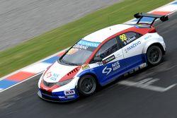 Dusan Borkovic, Proteam Motorsport 本田思域 WTCC