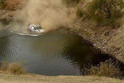 Accident de Ott Tanak et Molder Raigo, M-Sport Ford Fiesta WRC