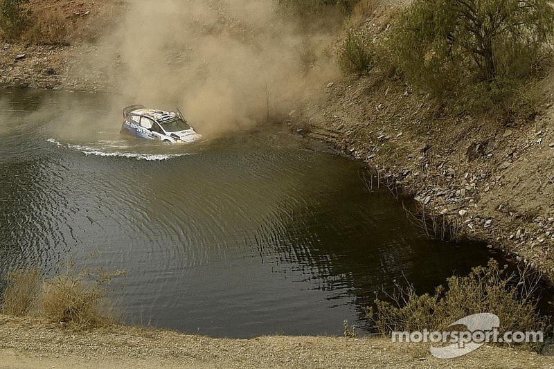 Incidente per Ott Tanak and Molder Raigo, M-Sport Ford Fiesta WRC